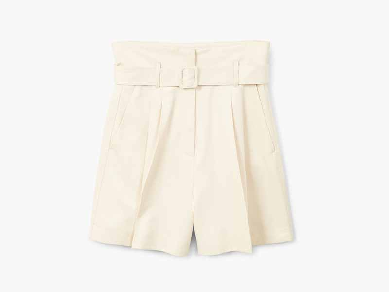 Belted shorts by Mango Dubai, visit Mall of the Emirates and City Centres