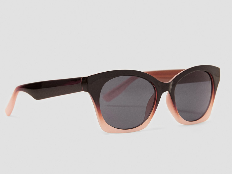 Cat-eye sunglasses by Zara available at Mall of the Emirates and City Centres