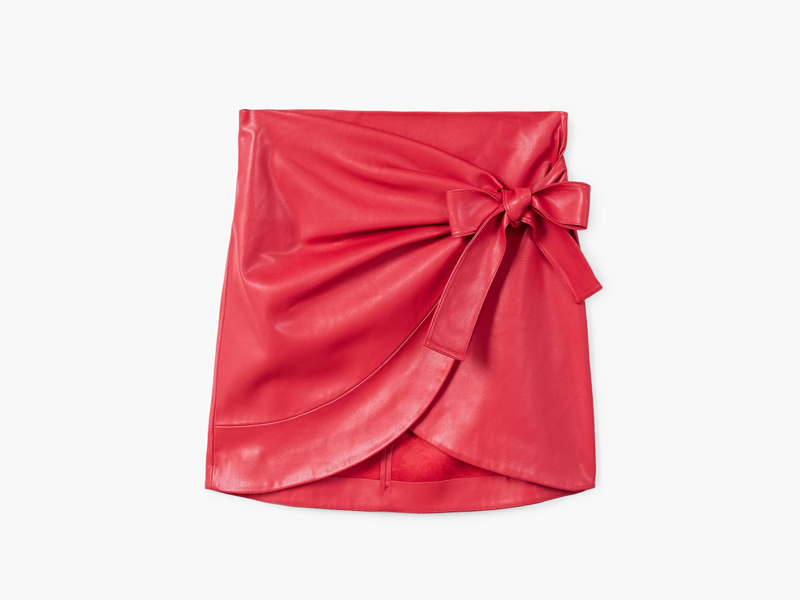 Bow skirt by Mango available at Mall of the Emirates and City Centres