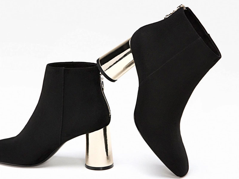 7ffdf75d7f6ea Black boots by Stradivarius, visit Mall of the Emirates and Mall of Egypt,  plus
