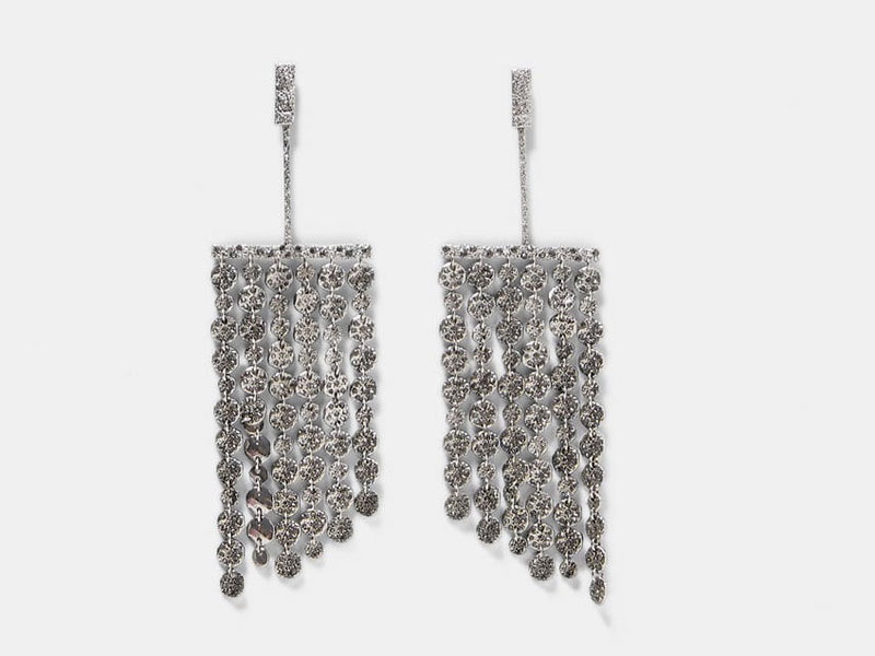 5ac1cd4c46506 Crystal earrings by Zara, available at Mall of the Emirates and Mall of  Egypt,