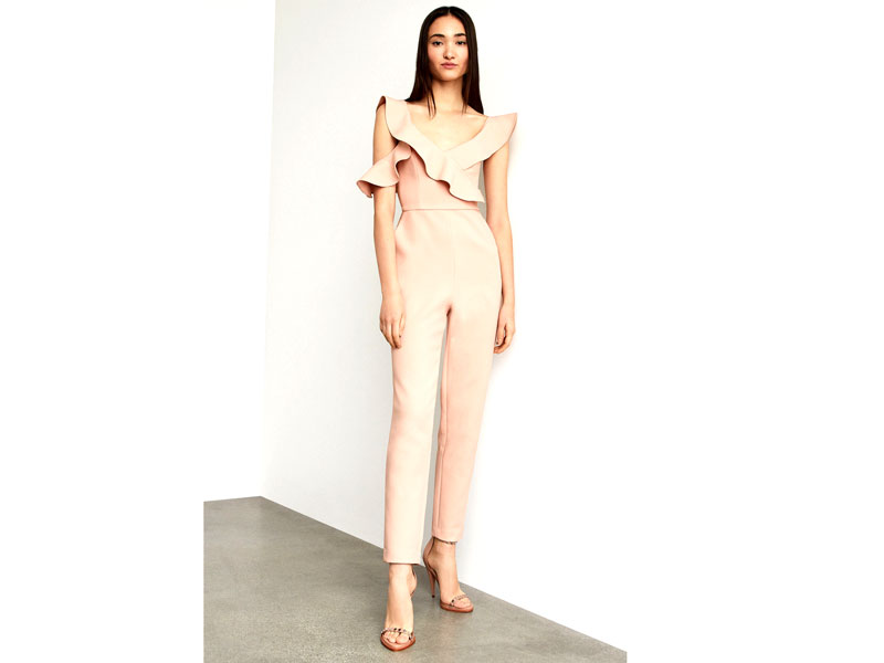 Pale pink jumpsuit by BCBGMAXAZRIA, at City Centre Mirdif